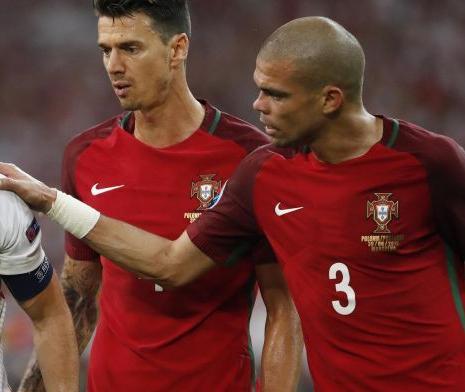 Pepe and Jose Fonte